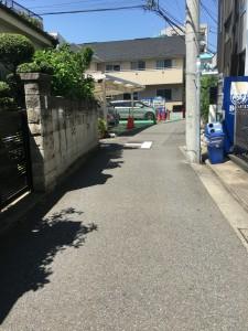 狭い道路の走り方