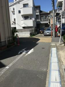 狭路の右折・左折